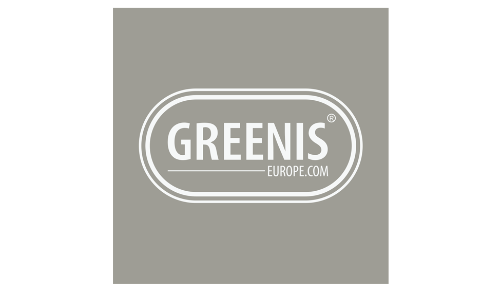 Het door Fishtank Media ontworpen logo van Greenis